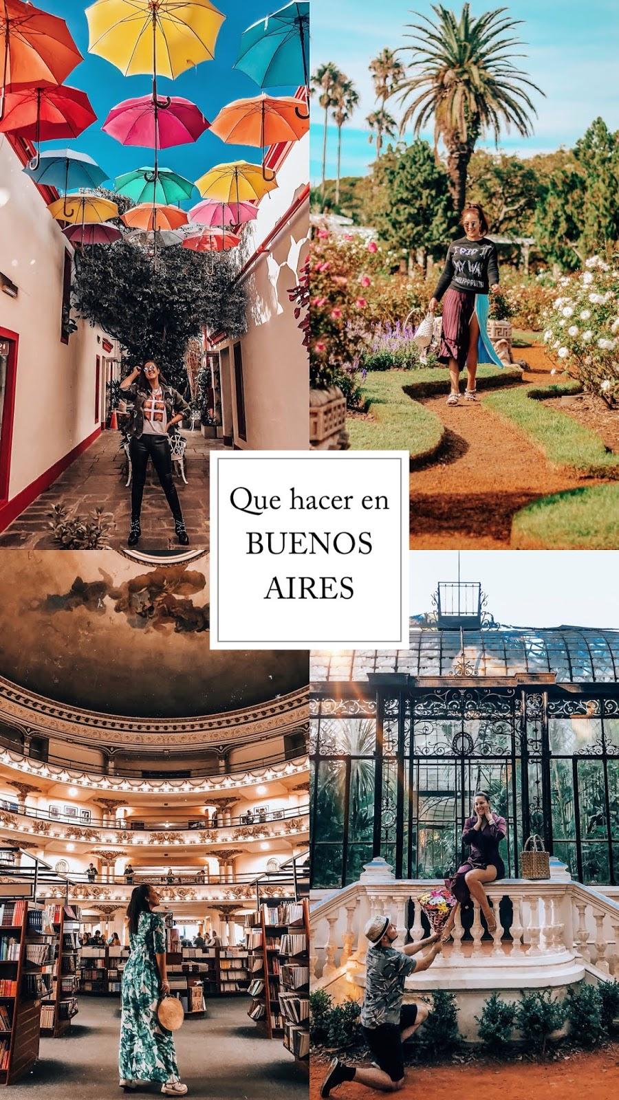que hacer en Buenos Aires