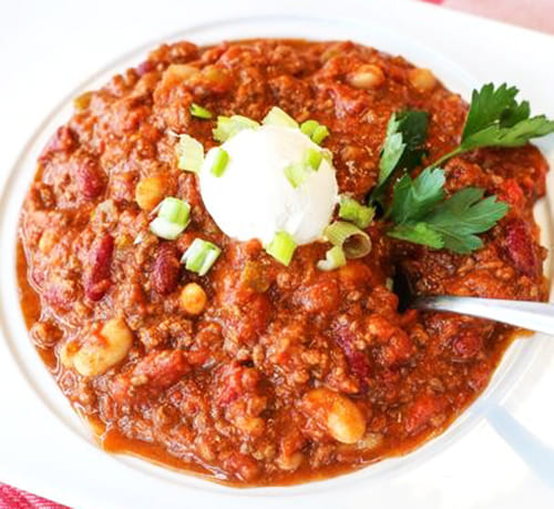 Bubba's Beef and Bean Chili