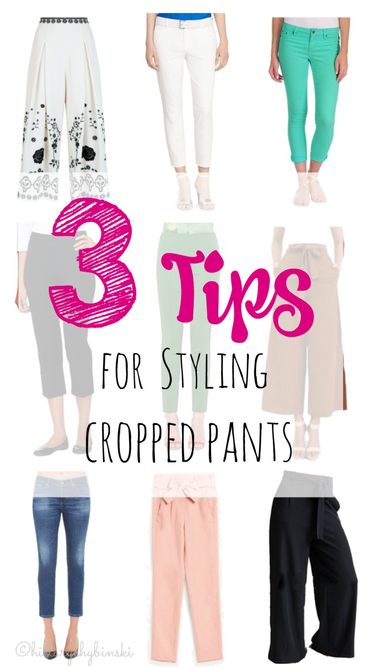 Every woman has a pair of cropped pants in her closet - here are 3 tips for making them look more stylish