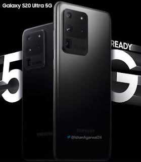 Samsung Galaxy S20 Ultra 5G Official Poster