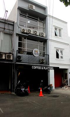 Lokasi cafe di bintaro