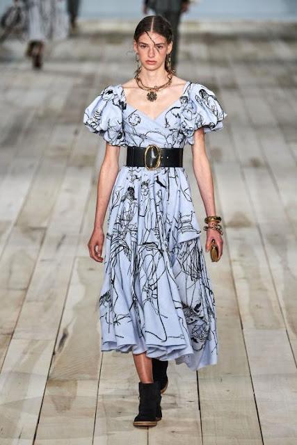 Модное платье весна-лето 2020 33