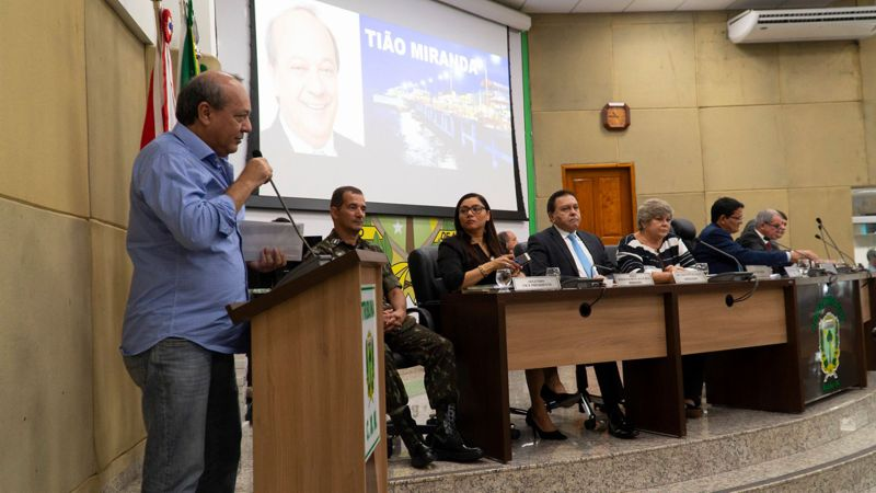 EM 1ª SESSÃO DA CÂMARA MUNICIPAL DE MARABÁ, PREFEITO AFIRMA MAIOR PODER DE INVESTIMENTOS VEJA FOTOS