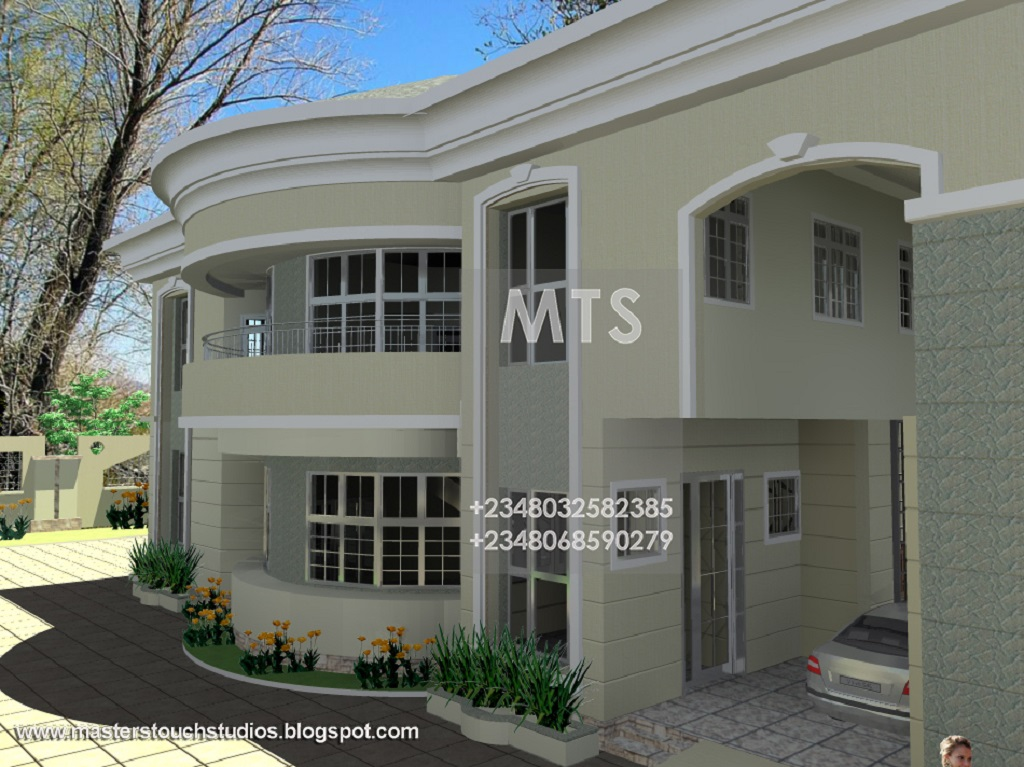 6 Bedroom Duplex Residential Homes And Public Designs