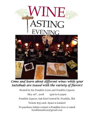 Wine Tasting Evening - May 19