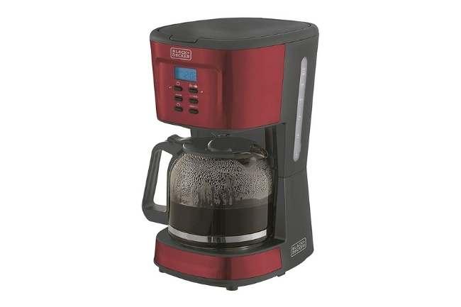 Cafeteira vermelha Philco PCFD38 Touch 38 xicaras