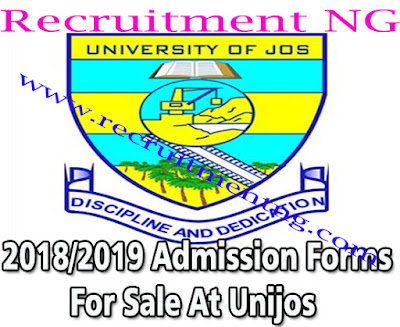 2018/2019 University of Jos Admission Forms For Sales On Sandwich Programmes