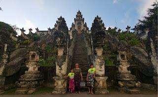Templo Lempuyang Luhur, Isla de Bali, Indonesia.