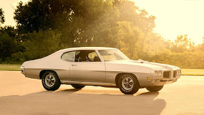 1970 Pontiac LeMans GTO Ram Air IV 400 Wallpaper