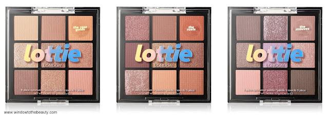 Lottie London nowe palety