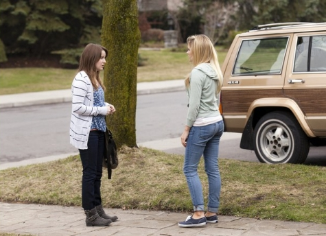 review of cyberbully Lucy mangan: casey is quietly skyping with her friend megan – and then all hell breaks loose in this desperately sad and menacing drama.