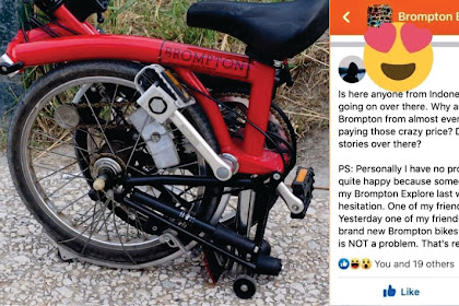 Aneh Tapi Nyata! di Masa Sulit, Toko Sepeda Brompton Jerman Tutup Karena Diborong Warga Indonesia! Warganet: Yang Kaya Makin Kaya, Yang Miskin Makin Miskin?