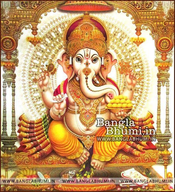 Lord Ganesha Super India God HD Poster Wallpaper Free Download