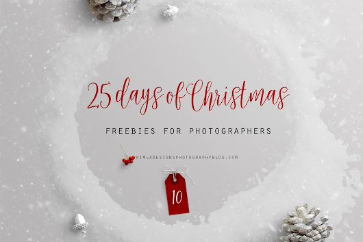 25 Days of Christmas Freebies for Photographers - Day 10th