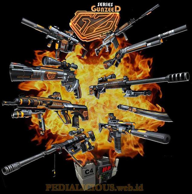Harga & Statistik Seri GunZeeD Senjata Point Blank