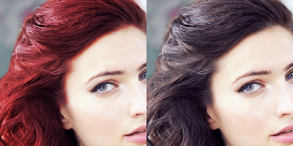 How To Change Hair Color Using Paint Net