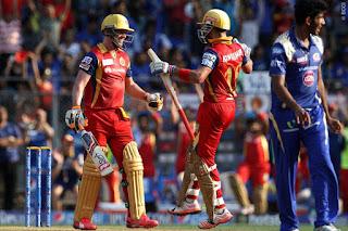 AB de Villiers 133* | Virat Kohli 82* - MI vs RCB 46th Match IPL 2015 Highlights