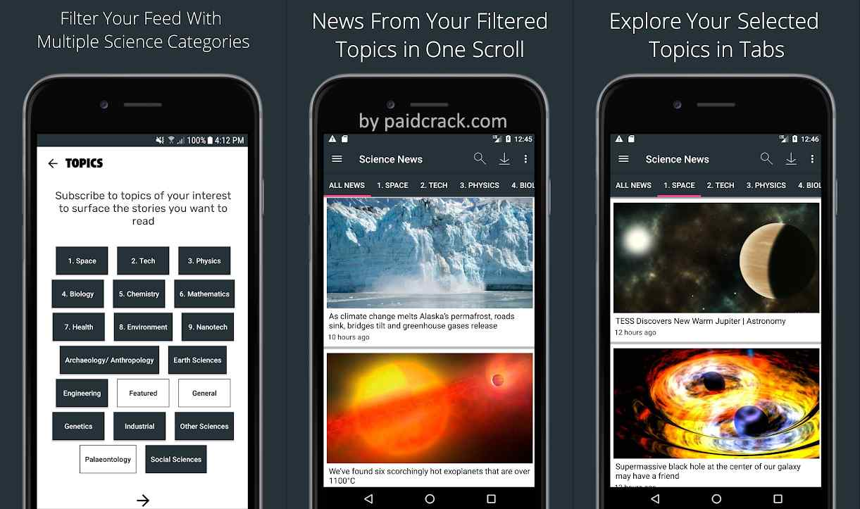 Science News Daily: Science Articles Mod Apk 10.1