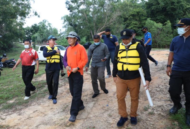 Pantau Kondisi Real Waduk Duriangkang, BP Batam Lakukan Peninjauan Lapangan