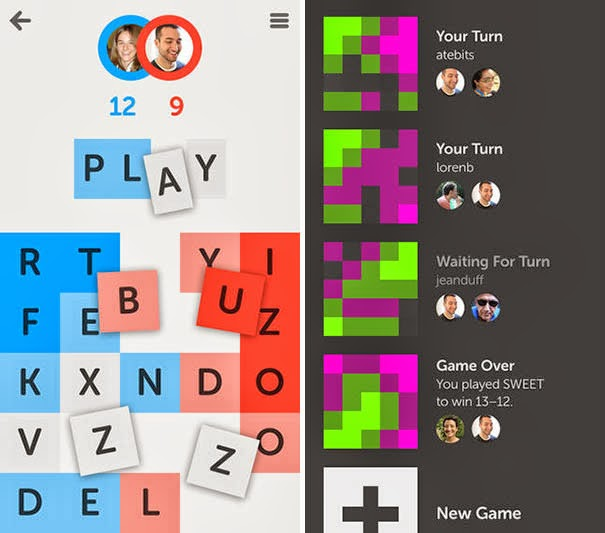 LetterPress Best iPhone and iPad game online
