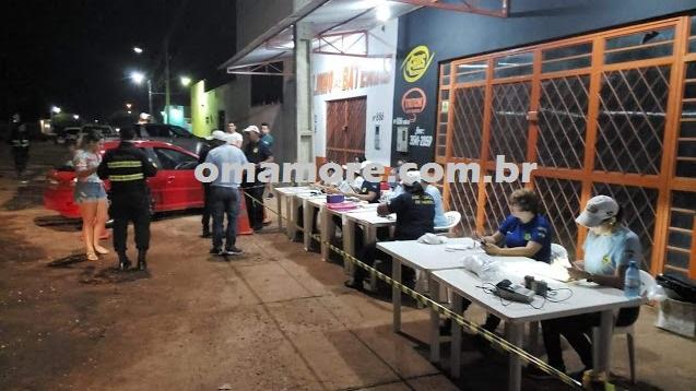 Operação Lei Seca em Guajará-Mirim prende 04 e autua 10 motoristas