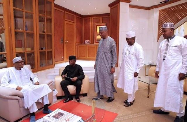 Buhari is in High Spirit - Osibanjo