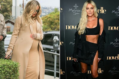 Khloé Kardashian: I weighed over 200 pounds before giving birth
