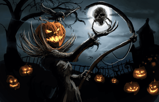 Halloween, HD, Wallpaper, zucca
