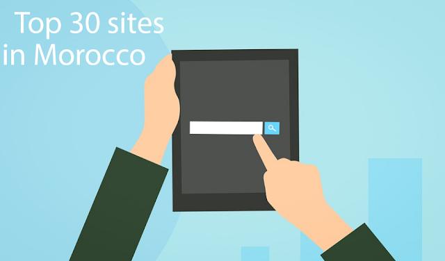 المواقع الإلكترونية الأكثر زيارة في المغرب