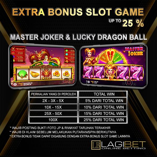 Extra Bonus Slot Game 25%
