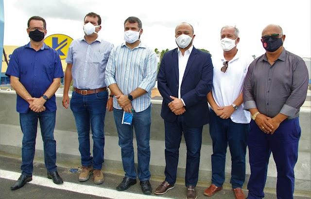 Vereadores participam de liberação do trecho do viaduto de Igapó