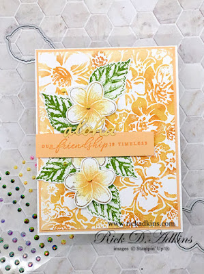 Learn about my multi-inking technique using the Timeless Tropical and Wild Rose Stamp Sets from Stampin' Up! Click here to learn more