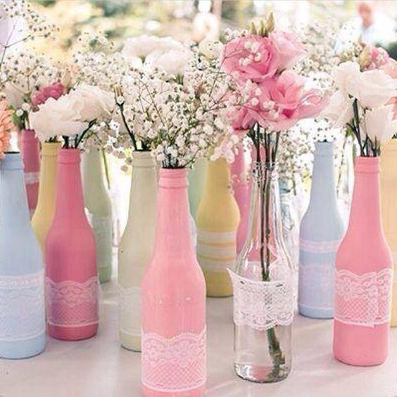 Aprende c mo decorar botellas con globos de cumplea os - Decorar vasos plasticos para cumpleanos ...