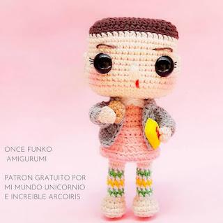 PATRON GRATIS MUÑECA AMIGURUMI 44986