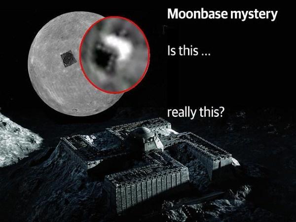 Phát hiện người ngoài hành tinh bước đi trên mặt trăng