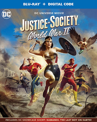 DC Universe Justice Society World War II Animated Movie Blu-ray
