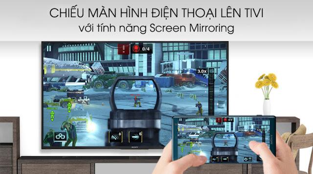 Smart Tivi Sony 4K 49 inch KD-49X7000G