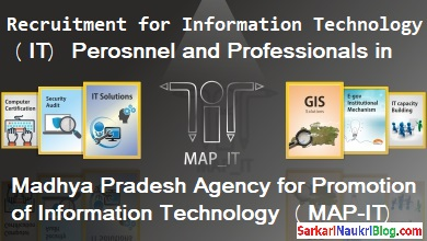 IT Professionals Recruitment in MAP-IT Bhopal