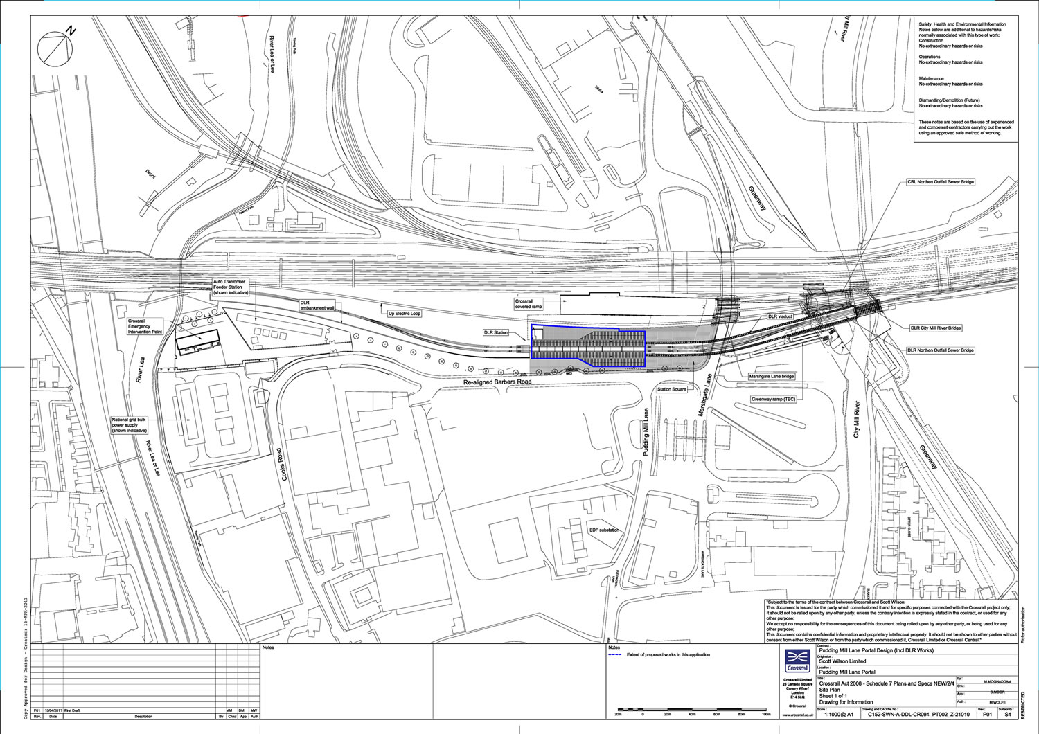 New Pudding Mill Dlr Station Approved