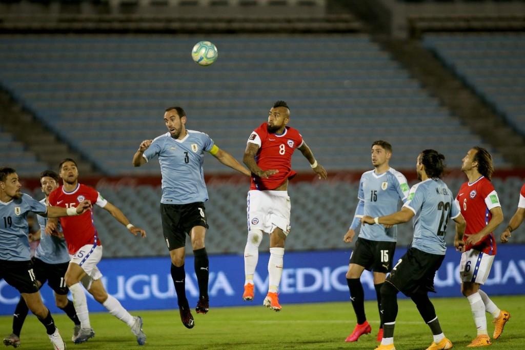 Uruguay y Chile en Clasificatorias a Catar 2022, 8 de octubre de 2020
