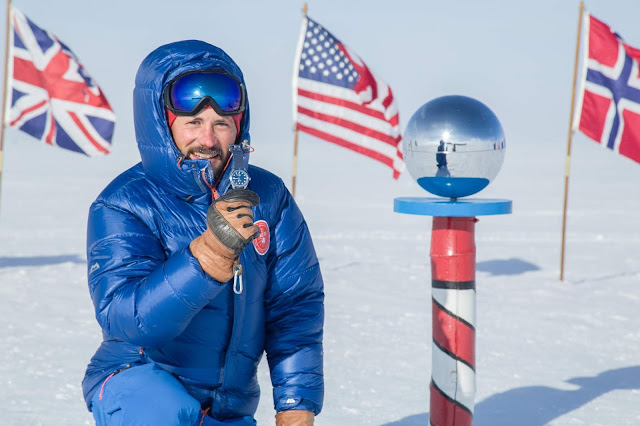 Charlie Paris Concordia Matthieu Tordeur South Pole