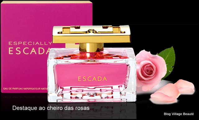 Resenha do perfume Especially Escada