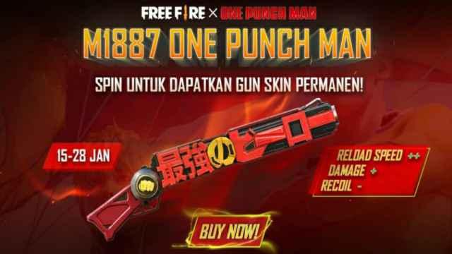 Shotgun m1187 one punch man, Shotgun m1187 saitama