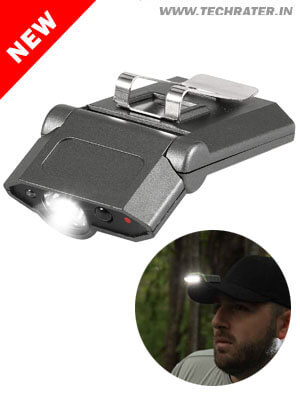 Cap LED Light with Gesture Control - Rechargeable