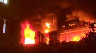 Major Fire outbreak in Mumbai building kill 3