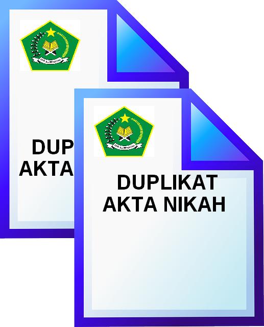 Prosedur Untuk Penerbitan Duplikat Akta Buku Nikah Kua Blimbing