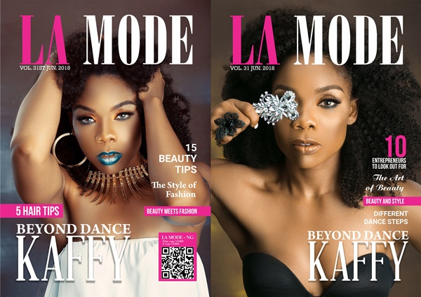 Kaffy Covers La Mode Magazine's New Edition ''Beyond Dance''