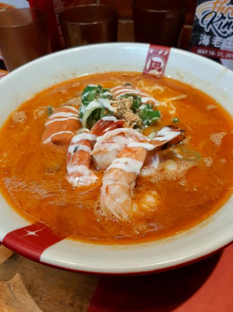 johnny eats ramen japanese shrimp ebi chicken karaage browth noodles ramen nagi