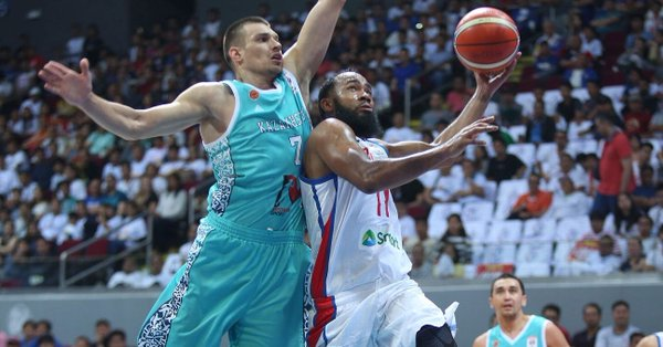 Stanley Pringle's 29 points are not enough to save Philippines from the hot shooting Kazakhs
