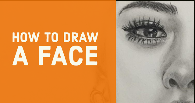 How to draw a face easy Drawing tutorial 2019